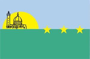 Porlamar - Image: Bandera santiagomarino
