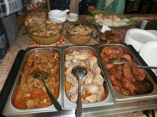 Walima Restaurant Menu