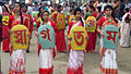 Bangladeshi girls celebrating Pohela Boishakh (17152686985).jpg
