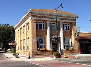 National Register of Historic Places listings in San Joaquin County, California - Image: Bank of Tracy Tracy, CA