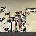 Banksy - Basquiat - London Barbican - September 2017 - 01.jpg