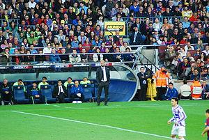 Banquillo FC Barcelona 16-05-2010