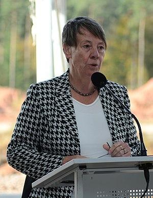 Barbara Hendricks (politician) - Image: Barbara Hendricks 2014 10 24