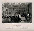 Barber-surgeons' Hall, Monkwell Street, London; the interior Wellcome V0013091.jpg