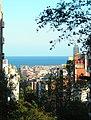 Barcelona, el mar a traves de Castillejos, Pamplona i Sert - panoramio.jpg