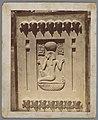 Bas-reliëf van Ramses II, afkomstig uit Saqqara Bas-relief de Ramesses II trouvé á Sakkara - Egypte (titel op object), RP-F-00-7966.jpg