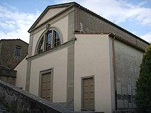 Фасад базилики Сант-Алессандро
