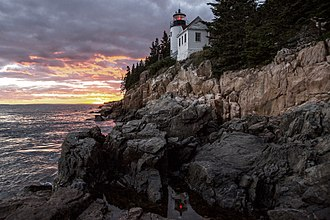 Acadia National Park - Bass Harbor Head Light