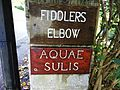 Bath ... the Roman name for the city - FIDDLERS ELBOW - that can't be right. - Flickr - BazzaDaRambler.jpg