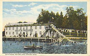 Meyers Lake, Ohio - The Meyers Lake Amusement Park entertained visitors 1920 - 1974