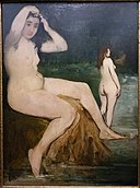 Bathers on the Seine-Academy, by Edouard Manet, 1874-1876, oil on canvas - Museu de Arte de São Paulo - DSC07159.jpg