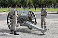 Batterie d'honneur de l'artillerie française - Investiture présidentielle du 15 mai 2012 - 006.jpg
