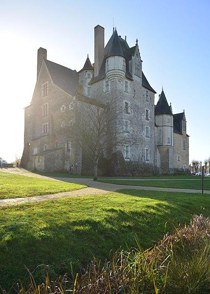 Château de Baugé, Maine-et-Loire, 2016.