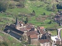 Baume-les-Messieurs - ancienne abbaye bénédictine