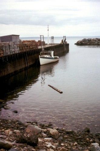 Tide - Image: Bay of Fundy High Tide