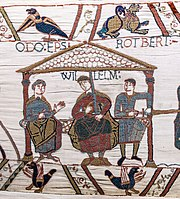 Bayeux Tapestry scene44 William Odo Robert