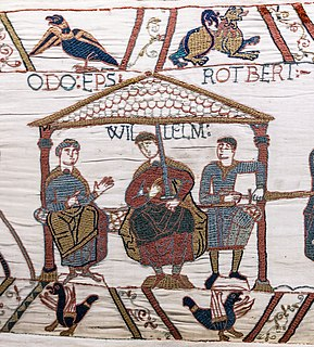 11th-century Norman nobleman and the uterine half-brother of William the Conqueror