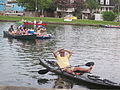 Bayou St John 4th of July NOLA 2012 Relaxing in Canoe.JPG