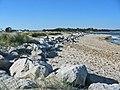 Beach dune defences Mudeford spit Dorset - geograph.org.uk - 184441.jpg