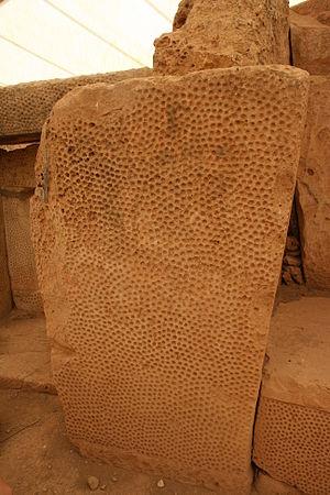 Mnajdra - Dressed limestone