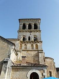 Beauronne église clocher.JPG