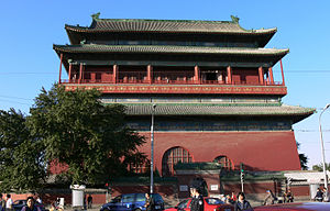 2008 Beijing Drum Tower stabbings - The Drum Tower of Beijing