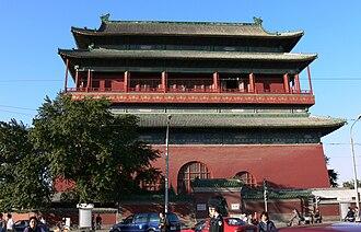 2008 Beijing Drum Tower stabbings - The Drum Tower of Beijing