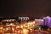 Belarus-Minsk-Prytytski Square-East Part