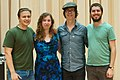 Ben Folds and yMusic read song arrangements by Duke University composition graduate students (17247895815).jpg