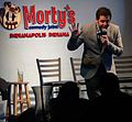 Ben Gleib standup Morty's Comedy Joint Indianapolis Indiana 10 February 2013.jpg
