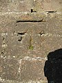 Bench mark on the rail bridge - geograph.org.uk - 1769392.jpg