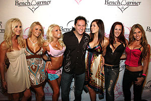 Bench Warmer International - Current Benchwarmer President: Brian Wallos attending his Birthday Bash at Area nightclub, West Hollywood,CA in August 2007