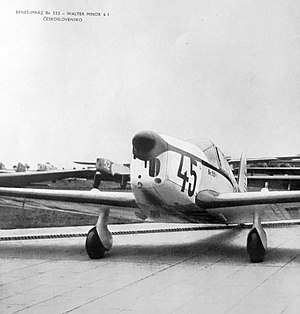 Beneš-Mráz Be-550 Super Bibi