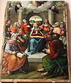 Benedetto o bartolomeo Coda, Discesa dello spirito santo, 1518.JPG
