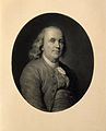 Benjamin Franklin. Lithograph by E. Girardet, 1886, after A. Wellcome V0002044.jpg