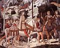 Benozzo Gozzoli - Procession of the Youngest King (detail) - WGA10251.jpg