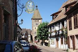 Bergheim (Бергхайм), Эльзас, Франция