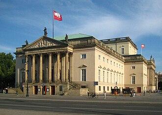Berlin State Opera - Image: Berlin, Mitte, Unter den Linden, Staatsoper 02