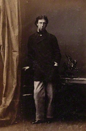 Bertram Wodehouse Currie - Bertram Wodehouse Currie. Albumen print by Camille Silvy, 1861. National Portrait Gallery, London.
