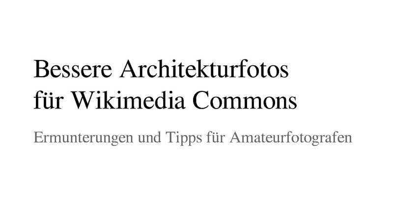 File:Better Architectural Photography for Wikimedia Commons (with notes, German).pdf