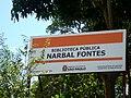 Biblioteca Narbal Fontes placa.JPG