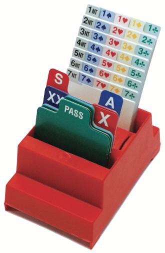 Bidding box - Bidding box for duplicate bridge