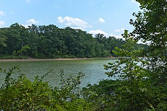 Big Pool, Maryland - Big Pool, the body of water formed when the Chesapeake and Ohio Canal was made, which gave the name to the area