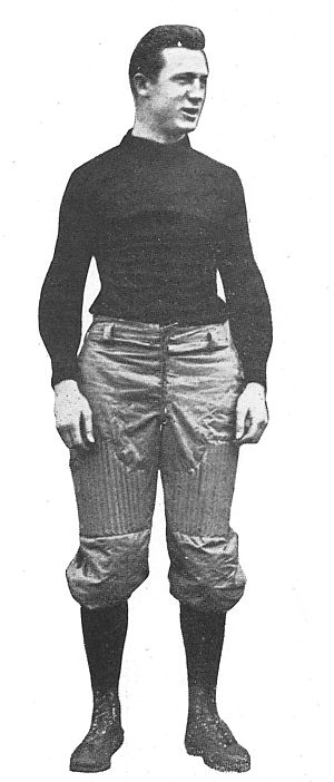 1906 College Football All-America Team - Bill Hollenback of Penn.
