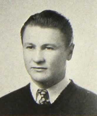 Bill Daley (American football) - Daley pictured c. 1942 at the University of Minnesota