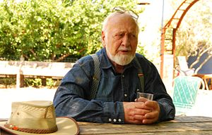 Permaculture - Bill Mollison in January 2008.