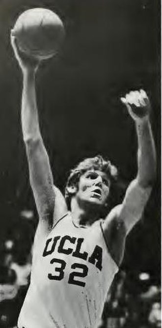 UCLA Bruins men's basketball - Bill Walton taking a shot