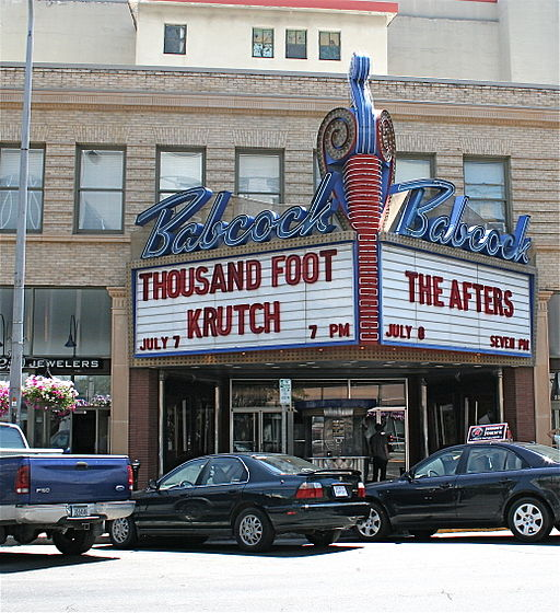 Billings, Montana. the Babcock Theater