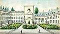 Binnentuin gesticht Calvariënberg Maastricht, Ph v Gulpen, 1849.jpg