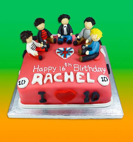 One Direction Birthday Cake Images